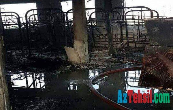 Məktəbdə dəhşətli yanğın - 25 nəfər yanaraq öldü