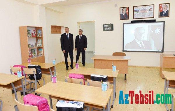 Salyan şəhər 2 saylı tam orta məktəbin yeni binası istifadəyə verilib
