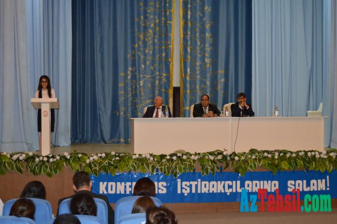 Balakən rayon təhsil işçilərinin sentyabr konfransı keçirilib