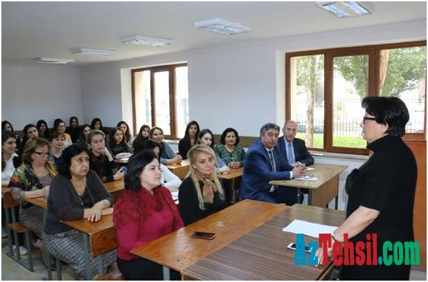 """ADPU-da """"Qloballaşma və insan inkişafı"""" mövzusunda elmi seminar keçirilib"""