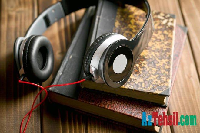 Onlayn kitabxana bazasında audiokitabların sayı artırılıb