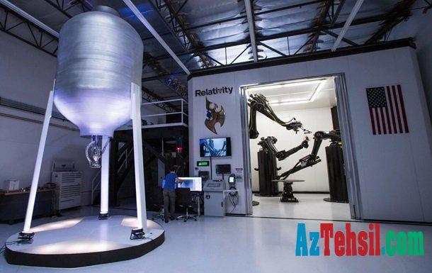 ABŞ-da 3D printerlə raket yaradılacaq