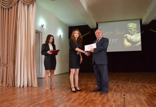 Odlar Yurdu Universitetində Hüseyn Cavidin 135 illik yubileyi keçirildi