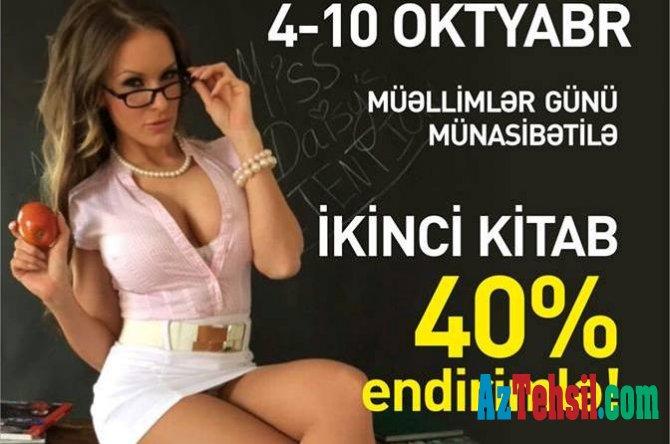 Azərbaycanda Müəllim günü ilə bağlı qalmaqallı reklam