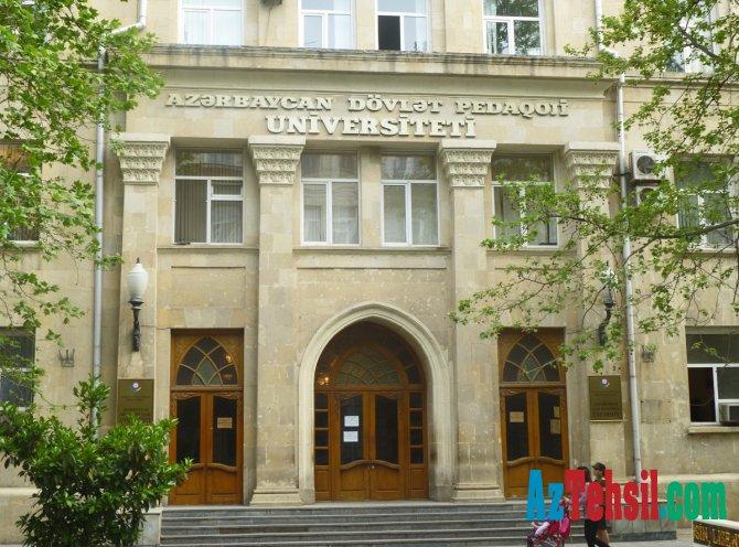 Azərbaycan Dövlət Pedaqoji Universitetində YENİ TƏYİNAT