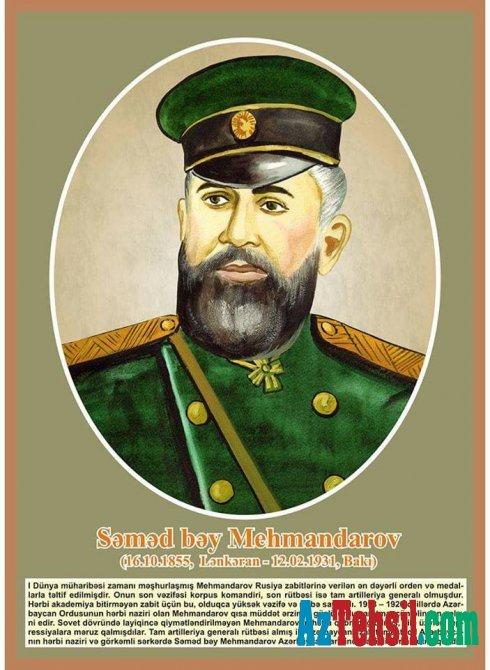 Səməd bəy Mehmandarovun doğum günüdür