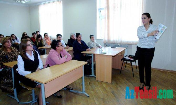 """Növbəti """"Məktəb seminarları"""" Sabunçu rayonunda"""