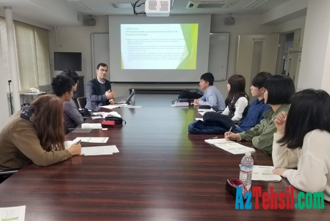 Daha bir xarici universitetdə Azərbaycan multikulturalizmi dərslərinə start verilib