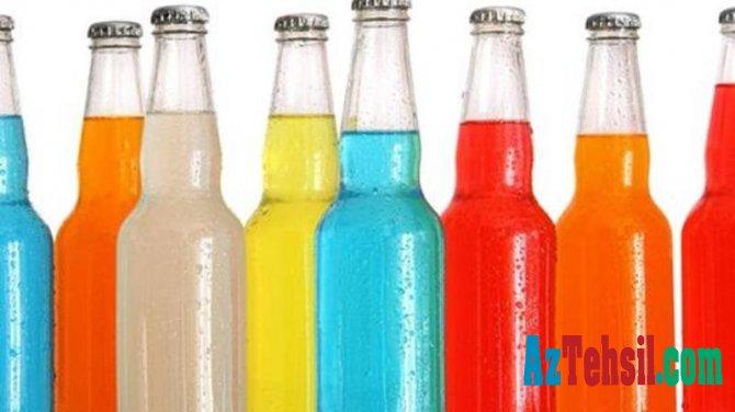 """Şirin qazlı içkilər uşaqların SÜMÜYÜNÜ """"ƏRİDİR"""" – VİDEO"""