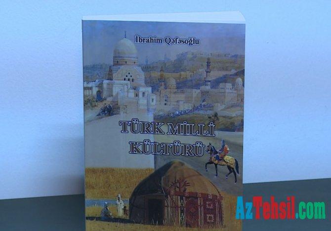 """""""Türk Milli Kültürü"""" kitabı Azərbaycan dilində"""