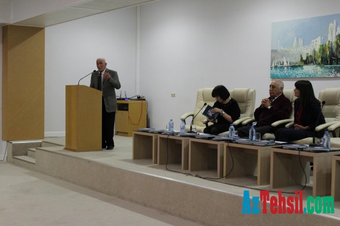 MEK-də akademik Hüseyn Həsənovun xatirəsinə həsr olunmuş kitabların təqdimatı keçirilib
