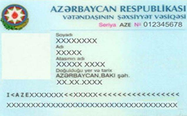 Şəxsiyyət vəsiqələrinin müddəti ilə bağlı dəyişiklik- Yanvarın 1-dən...