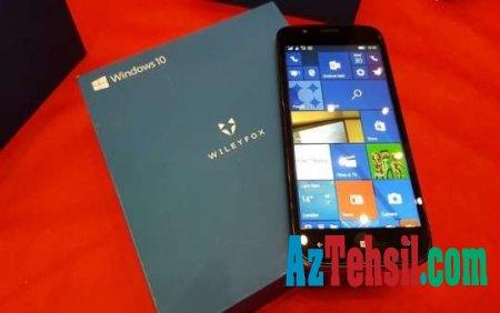 """""""Windows 10"""" sistemli sonuncu smartfon satışa çıxarıldı"""