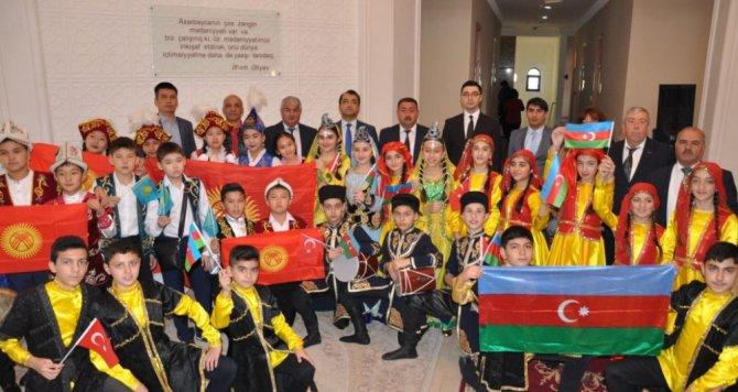 """Gəncədə """"Türk dünyası ənənəvi uşaq oyunları festivalı"""" keçirilib"""