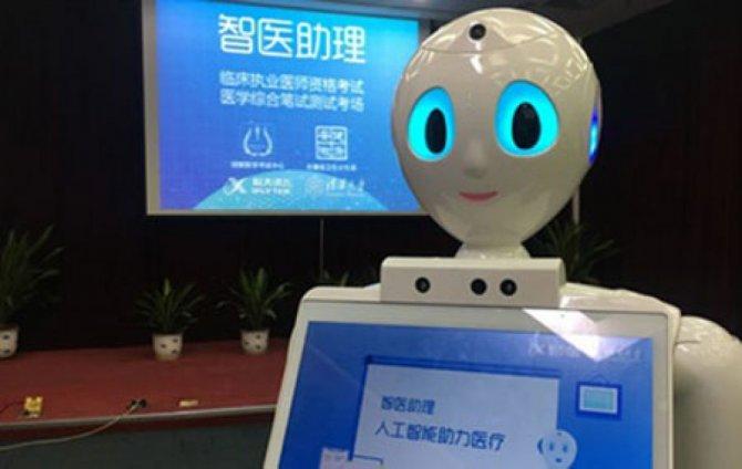 Çində robotlar diaqnoz qoyacaqlar