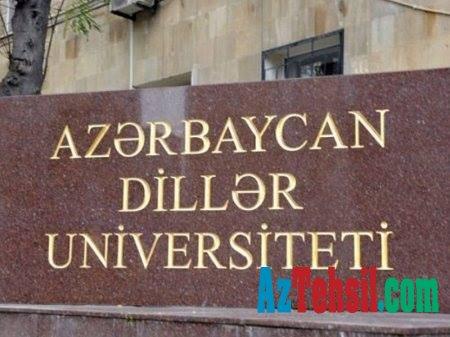Dillər Univеrsitеtində VAKANSİYA -SİYAHI