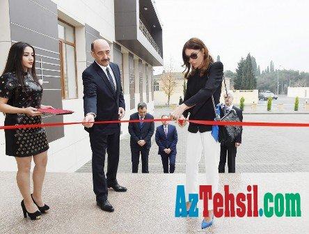 Mehriban Əliyeva Musiqi Məktəbinin yeni binasının açılışında