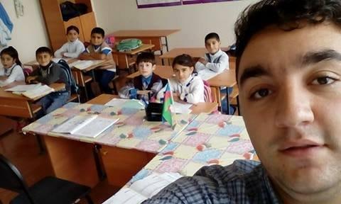 """Ucqar kəndin gənc müəllimi - """"Burda yarım metr qar yağanda da bütün uşaqlar dərsə gəlir"""""""