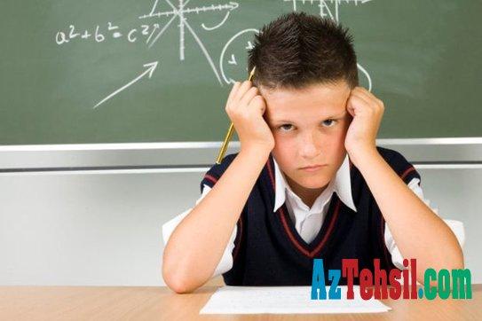 Uşaqların dərs uğursuzluqları və səbəbləri