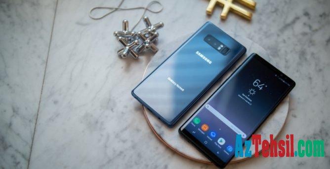 """Samsung Galaxy Note 8"" ilin smartfonu oldu"