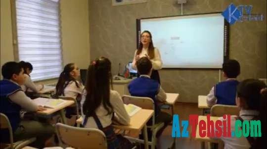 """""""İdrak"""" liseyində Azərbaycan, rus və ingilis dillərində Qarabağ dərsləri..."""
