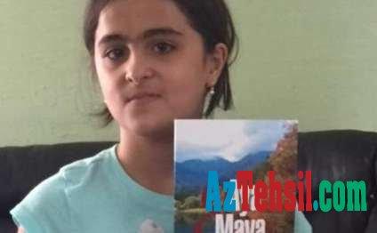 9 yaşlı Fatimənin kitabı ABŞ-da nəşr olundu