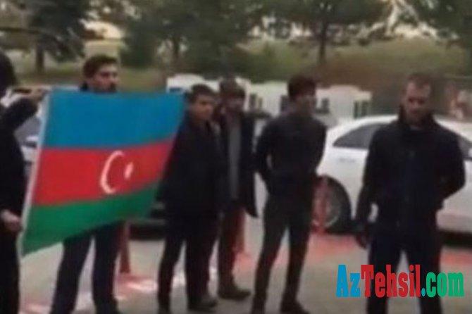 Azərbaycan bayrağını endirən ermənipərəst professor işdən qovuldu