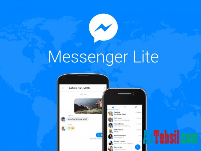 """""""Messenger Lite"""" əlavəsinin yüklənmə sayı AÇIQLANDI"""