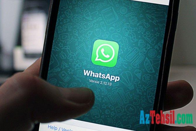 """""""WhatsApp"""" iki əməliyyat sistemini dəstəkləməyi dayandırır"""