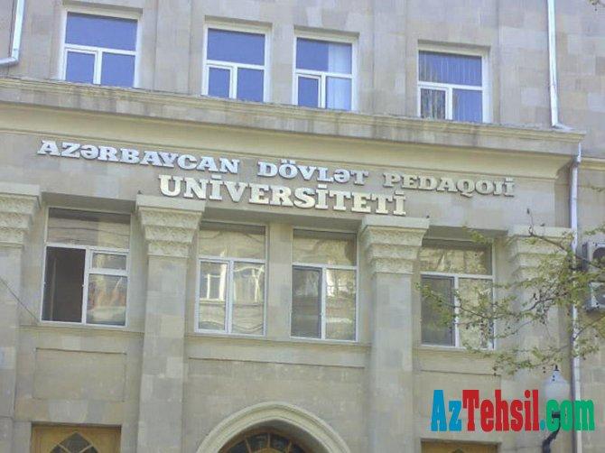 Azərbaycan Dövlət Pedaqoji Universitetinə yeni prorektor təyin edilib