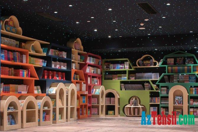 Dünyanın ən gözəl kitabxanası -FOTOLAR