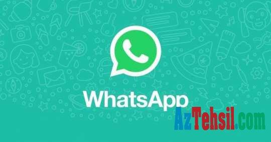 WhatsApp istifadəçilərinə müjdə