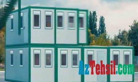 Bölgələrdə modul tipli 137 məktəb tikiləcək