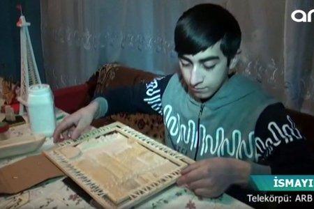 Nitq qüsurlu 18 yaşlı gəncin qeyri-adi istedadı - VİDEO