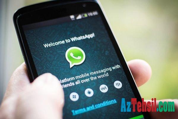 """DİQQƏT: Sizi """"WhatsApp""""da əngəlləyənlərə yaza bilərsiniz – Bu üsulla"""