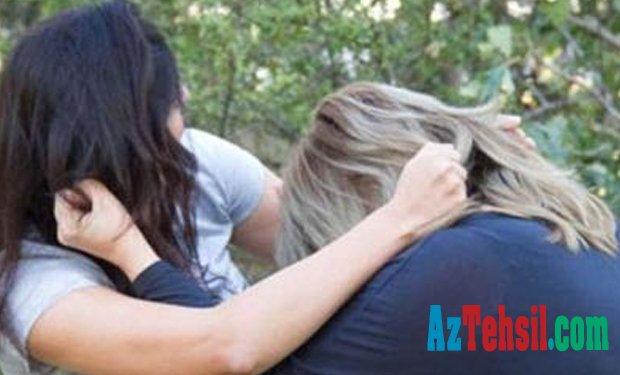Uşaqların davasına valideynlər qarışdı — Orta məktəbdə saçyoldu