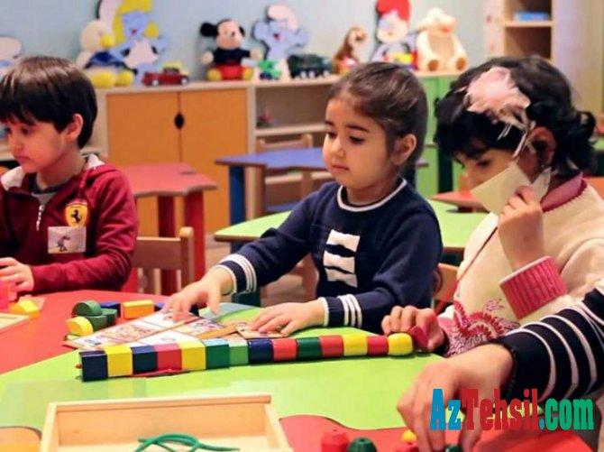 Məktəbəqədər təhsil müəssisələrində uşaqların sosial müdafiəsinə dair tədbirlər müəyyənləşib