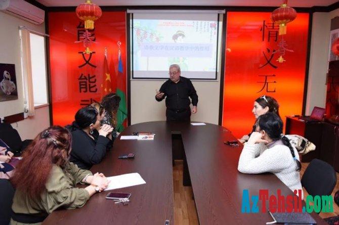 ADU-da Şərq dilləri müəllimləri üçün seminar keçirilib