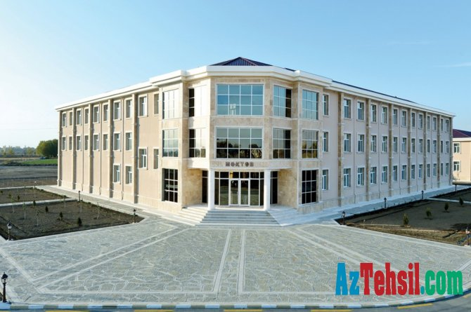 Ötən il respublikada 10 yeni məktəb binası istifadəyə verilib