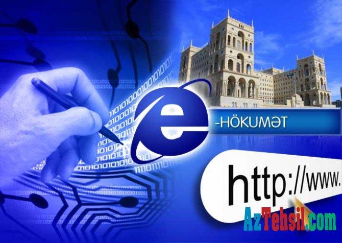 """""""Elektron hökumət"""" portalında daha 3 yeni xidmət"""
