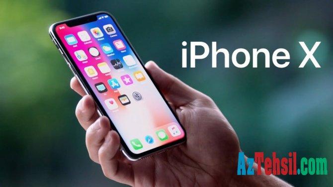 """""""iPhone X"""" ən çox satılan smartfon oldu"""