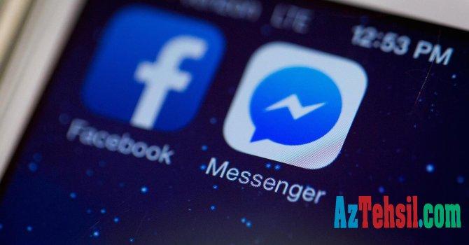 """""""Facebook Messenger"""" interfeysini yeniləyir"""