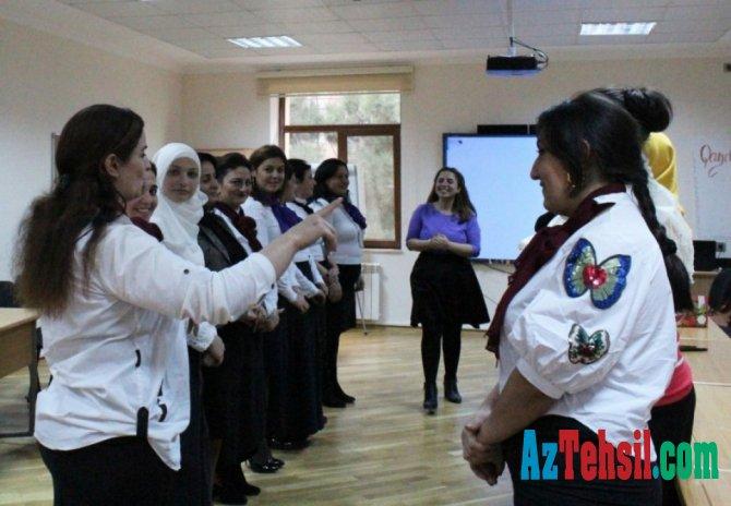 Təhsil İşçilərinin Peşəkar İnkişafı İnstitutunda valideynlər üçün seminar təşkil olunub
