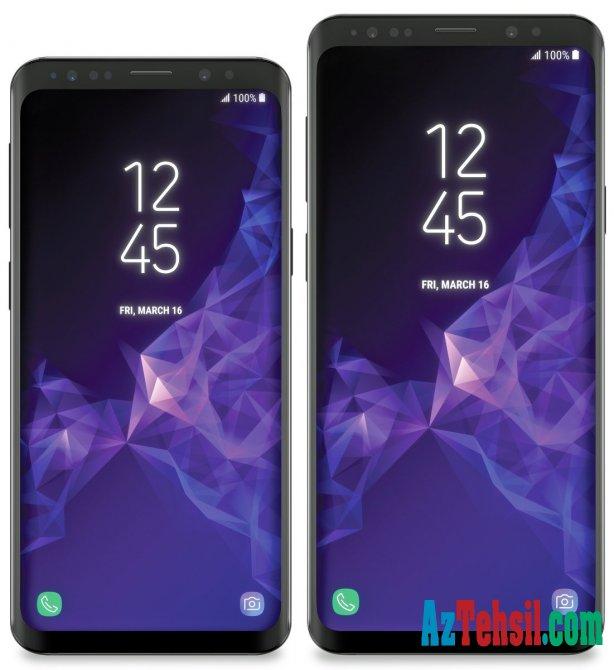 Smartfon həvəskarları üçün: Samsung S9 belə olacaq