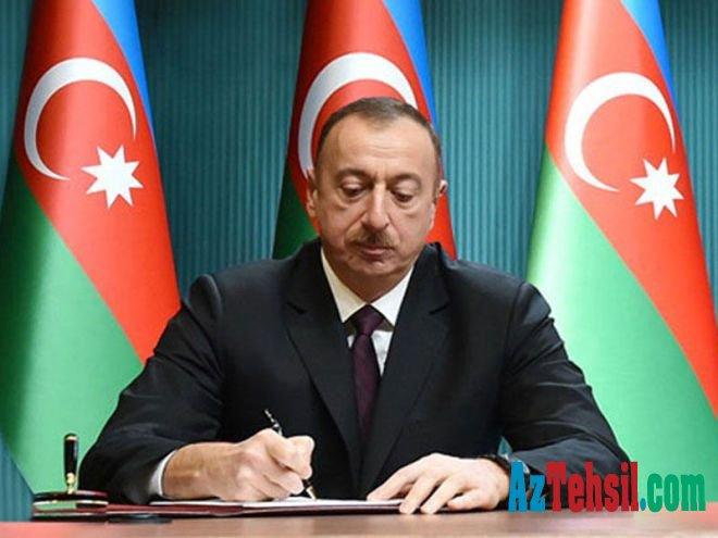 İlham Əliyev təhsillə bağlı - SƏRƏNCAM imzaladı