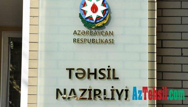 Təhsil nazirliyindən YENİ ƏMR: 2018-2019-cu dərs ilində...