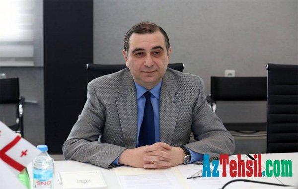 Gürcüstanın təhsil naziri Azərbaycana səfər edəcək