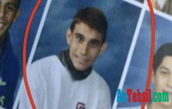 Məktəbdə 17 nəfəri öldürən gəncin - FOTOLARI