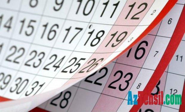 Mart ayında 8 gün qeyri-iş günü olacaq