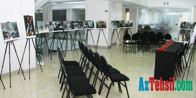 Azərbaycan Universitetində Xocalı soyqırımının 26-cı ildönümünə həsr olunmuş fotosərgisinin açılışı olub